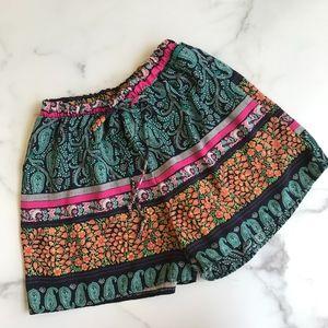Francesca's stripe pattern soft shorts